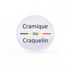 Miroir Cramique ou Craquelin