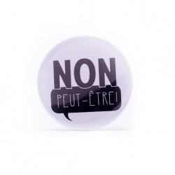 Badge Non peut-être