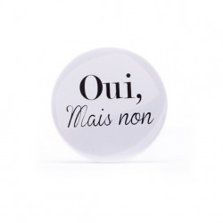 Button Oui, mais non