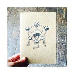 Schrift Atomium