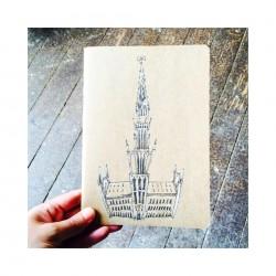 Notebook Grand Place de Bruxelles