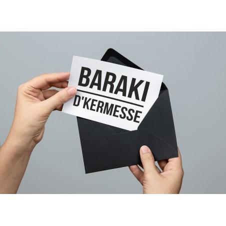 Carte postale Baraki