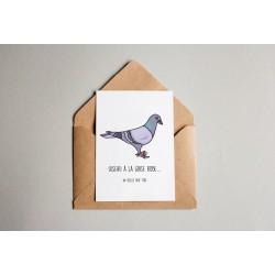 Carte postale Oiseau