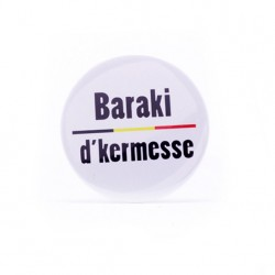 Badge Baraki de Kermesse