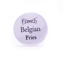 Badge Belgian fries
