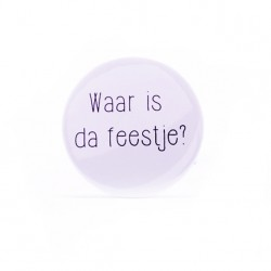Décapsuleur Waar is da...