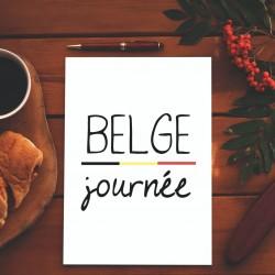 Carte postale Belge journée