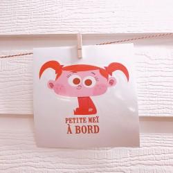 Stickers Petite Meï