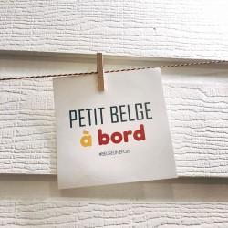 Stickers rond Petit Belge à...