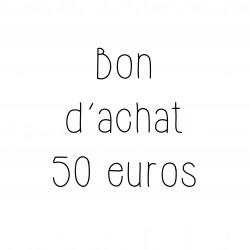 Bon d'achat 50 euros