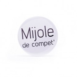 Badge Mijole de compet