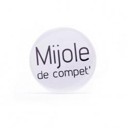 Badge Mijole de compet