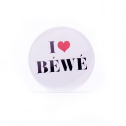 Badge I love Béwé