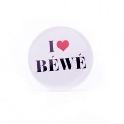 Badge I love Béwé