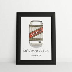 Cadre Ceci n'est pas une bière