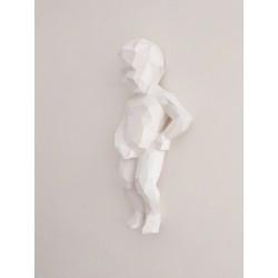 Manneken Pis face sculpture...