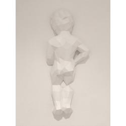 Manneken Pis dos sculpture...