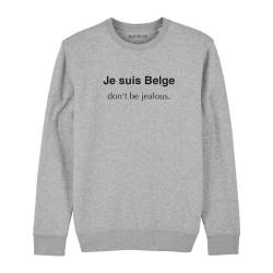 Sweatshirt Je suis Belge,...