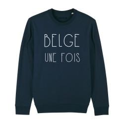 Sweatshirt Belge Une Fois