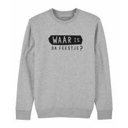 Sweatshirt Waar is da...