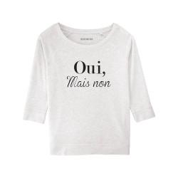 Sweatshirt Oui, mais non