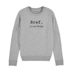 Sweatshirt Bref, je suis...