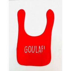 Bavoir Goulaf rouge