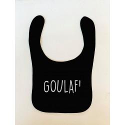 Bavoir Goulaf noir