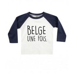Tshirt Belge une fois bleu