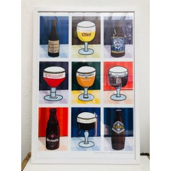 Poster Bières