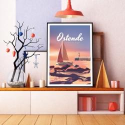 Poster Ostende