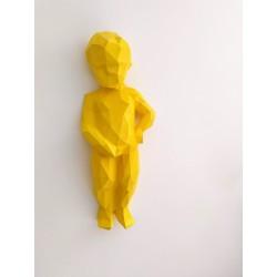 Manneken Pis face jaune