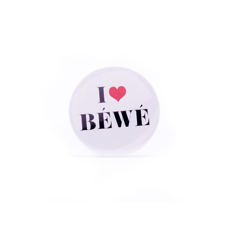 Miroir I love Béwé