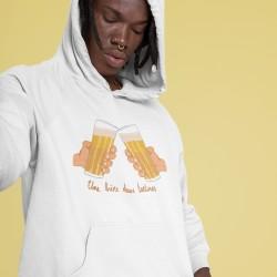 Sweat Unisexe à capuche bière