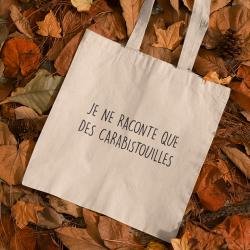 Tote bag Carabistouilles