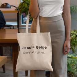 Tote bag Je suis Belge...