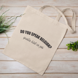 Tote bag Do you speak...