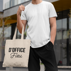 Tote bag D'office Fieu