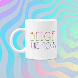 Mug Belge une fois LGBTQ+