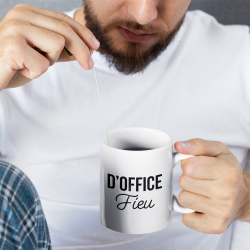 Mug D'office Fieu