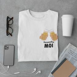 Tshirt bières personnalisé