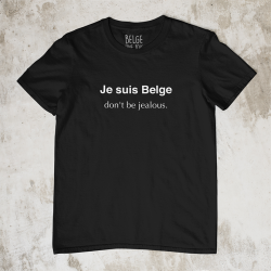 T-shirt Je suis Belge don't...