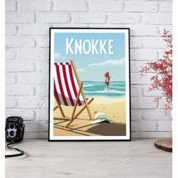 Poster Knokke