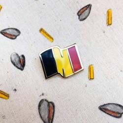 Pins drapeau de la Belgique