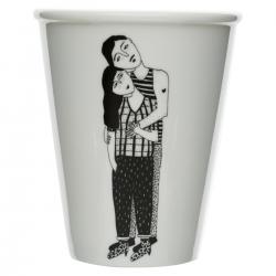 helen b - cup hugging