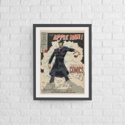 Poster encadré 50x70 Apple Man