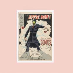 Poster 50x70 Apple Man
