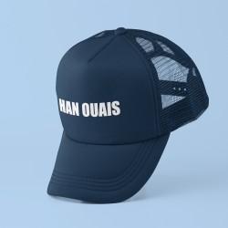 Casquette Han ouais bleue
