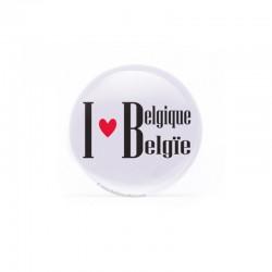 Badge I love Belgique/België