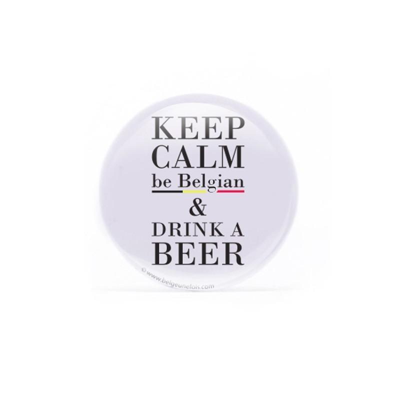 Badge  Be Belgian